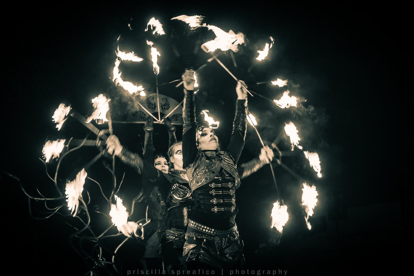 Sillumine - danse - spectacle de feu - Association APSARA Genève