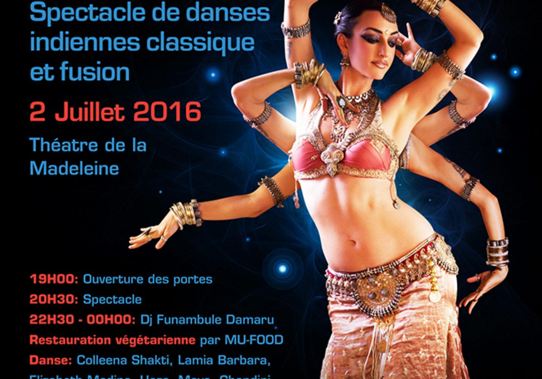 Indian Fusion Sparkles – 2 & 3 juillet 2016 - Association APSARA Genève