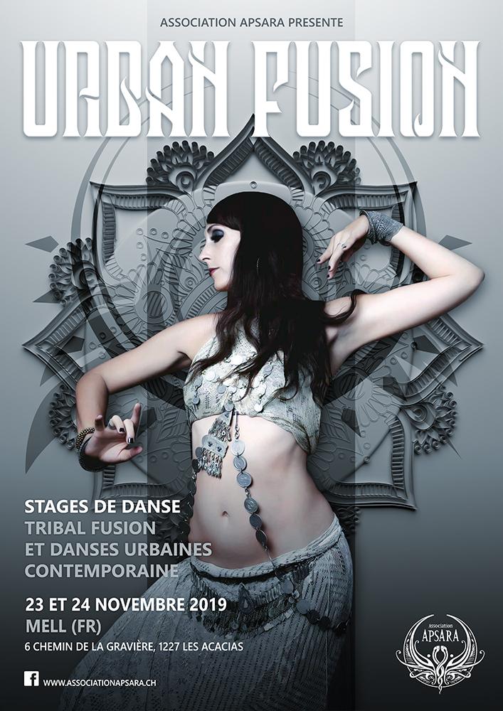 Affiche Urban fusion web - Mell