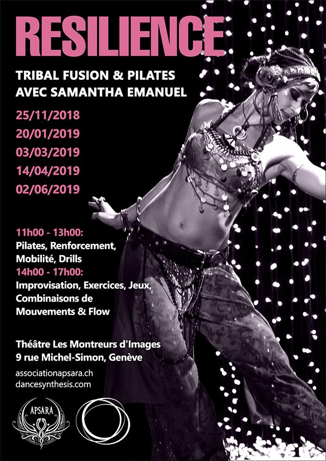 RESILIENCE, Tribal Fusion avec Samantha Emanuel