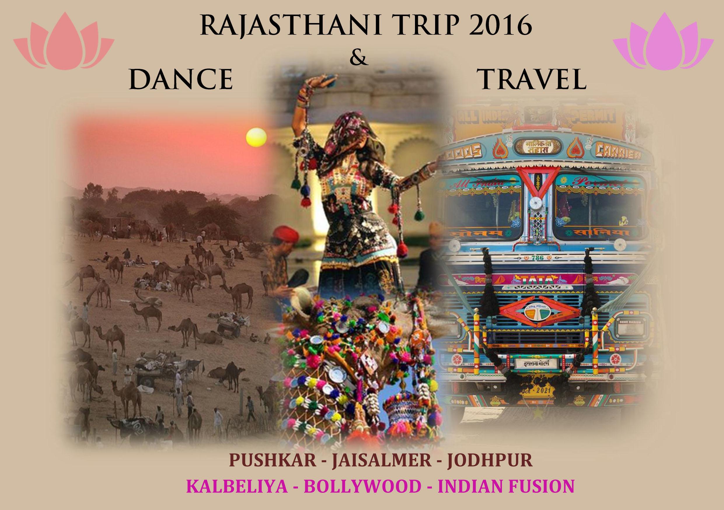 Flyer Rajasthani Trip