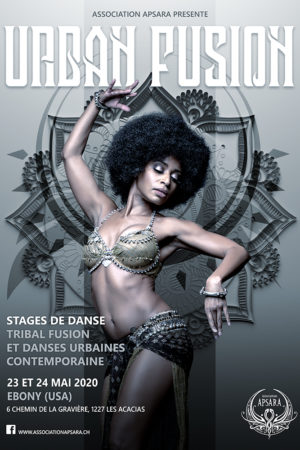 Affiche Urban fusion web - Ebony